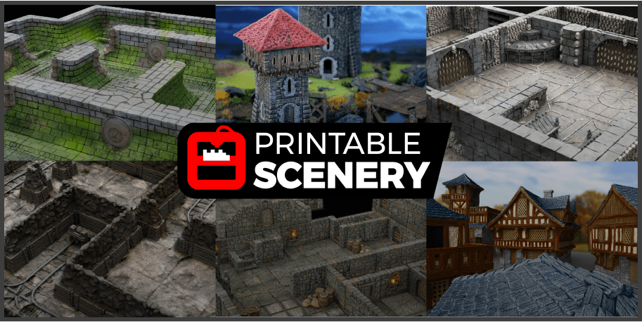 Printable Scenery files